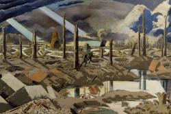 Paul Nash 'The Menin Road'