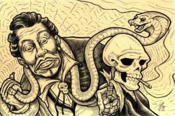 Screamin' Jay Hawkins by Jeffro Kilpatrick