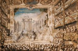 Armide at the Palais-Royal Opera House by Gabriel de Saint-Aubin