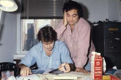 Dan Aykroyd and John Belushi