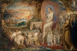 Christ's Entry into Jerusalem by William Blake