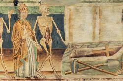 Dance of Death replica of 15th century fresco