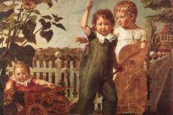 Die Hülsenbeckschen Kinder by Philipp Otto Runge