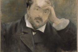 Emmanuel Chabrier by Edouard Manet