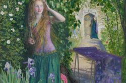 Fair Rosamund by Arthur Hughes