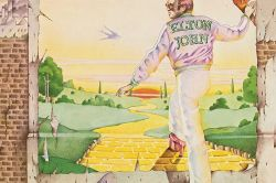 Goodbye Yellow Brick Road LP cover