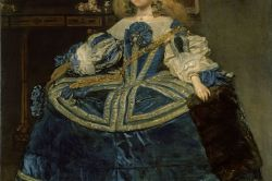 Infanta Margarita Teresa in a Blue Dress by Diego Velázquez