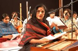 Kishori Amonkar in Mumbai, 2008