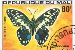 Republique du Mali postcard
