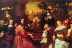Musical Company by Johannes Voorhout
