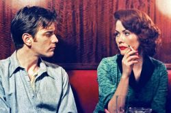 Ewan McGregor and Therese Bradley in Young Adam