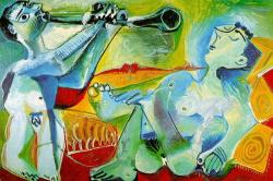Serenade by Pablo Picasso