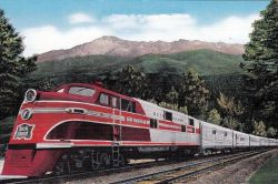 Rocky Mountain Rocket in 1942