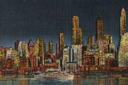 Skyline of NYC from Brooklyn