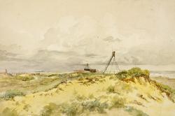 Winterton, Norfolk: Sandhills on the Coast by James Stark