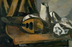 Still Life with Mandolin by Ernst Dreyfuss