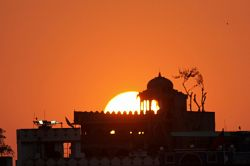 Sunset in Pushkar, Rajasthan by Dr. Glazunov