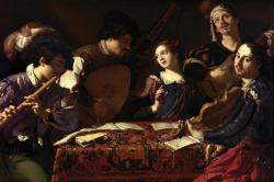 The Concert by Theodoor Rombouts