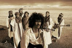 Tinariwen's Aman Iman CD cover