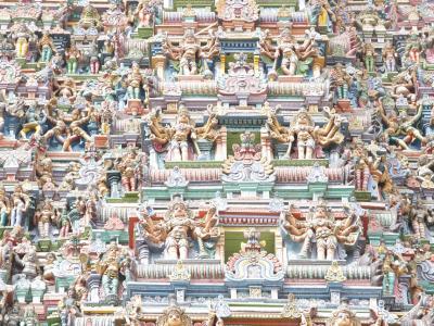 Meenakshi Amman Temple in Madurai by Dr. Glazunov