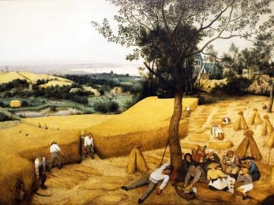 The Corn Harvest by Pieter Bruegel the Elder