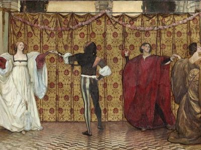 A Pavane by Edwin Austin Abbey