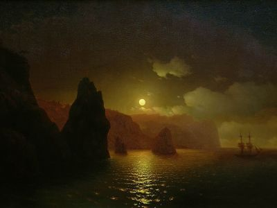 Cape Fiolent by Ivan Aivazovsky