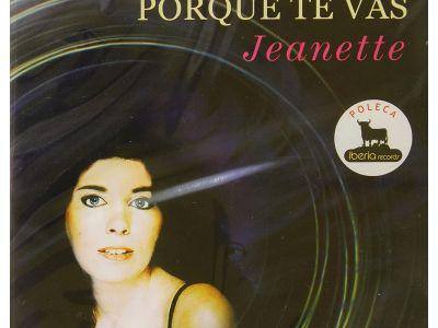 Jeanette's Porque Te Vas CD cover