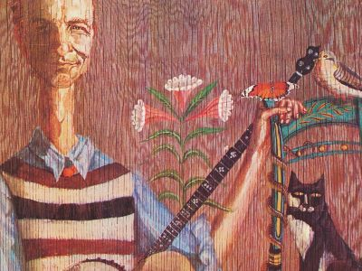 Pete Seeger LP cover