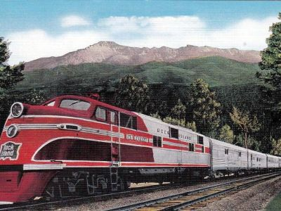 Rocky Mountain Rocket in 1942