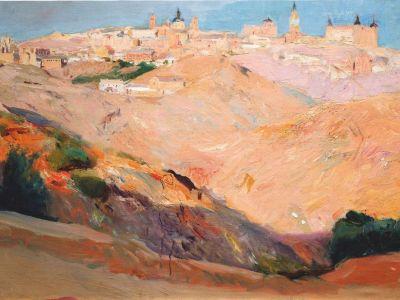 View of Toledo by Joaquín Sorolla
